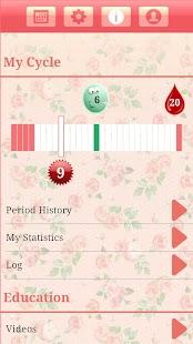 Menstrual Period Tracker - screenshot thumbnail