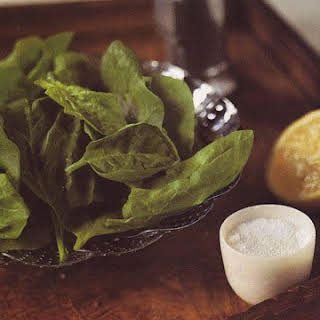 Steamed Spinach No Oil Recipes.