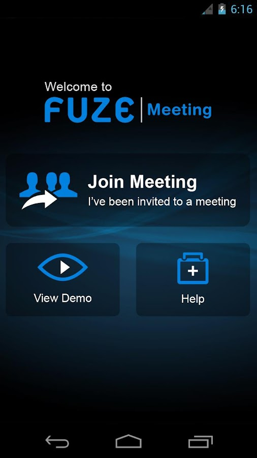 Fuze (Smartphone) - screenshot