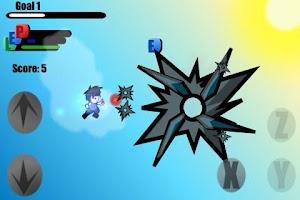 Screenshot of Dragon Sky Rush Ninja B