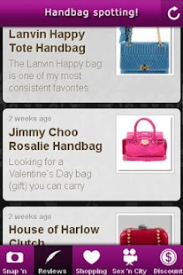 Handbag Spotting! - screenshot thumbnail