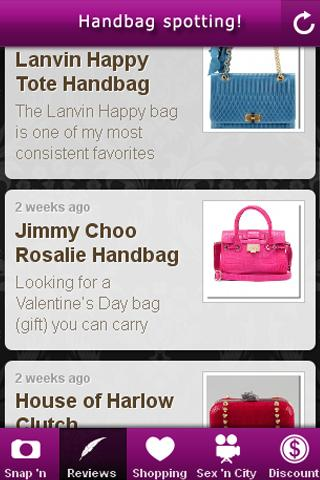 Handbag Spotting! - screenshot