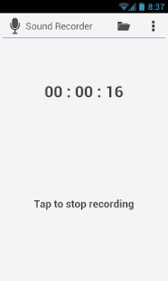 Sound Recorder- screenshot thumbnail