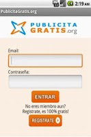 Screenshot of Publicita Gratis