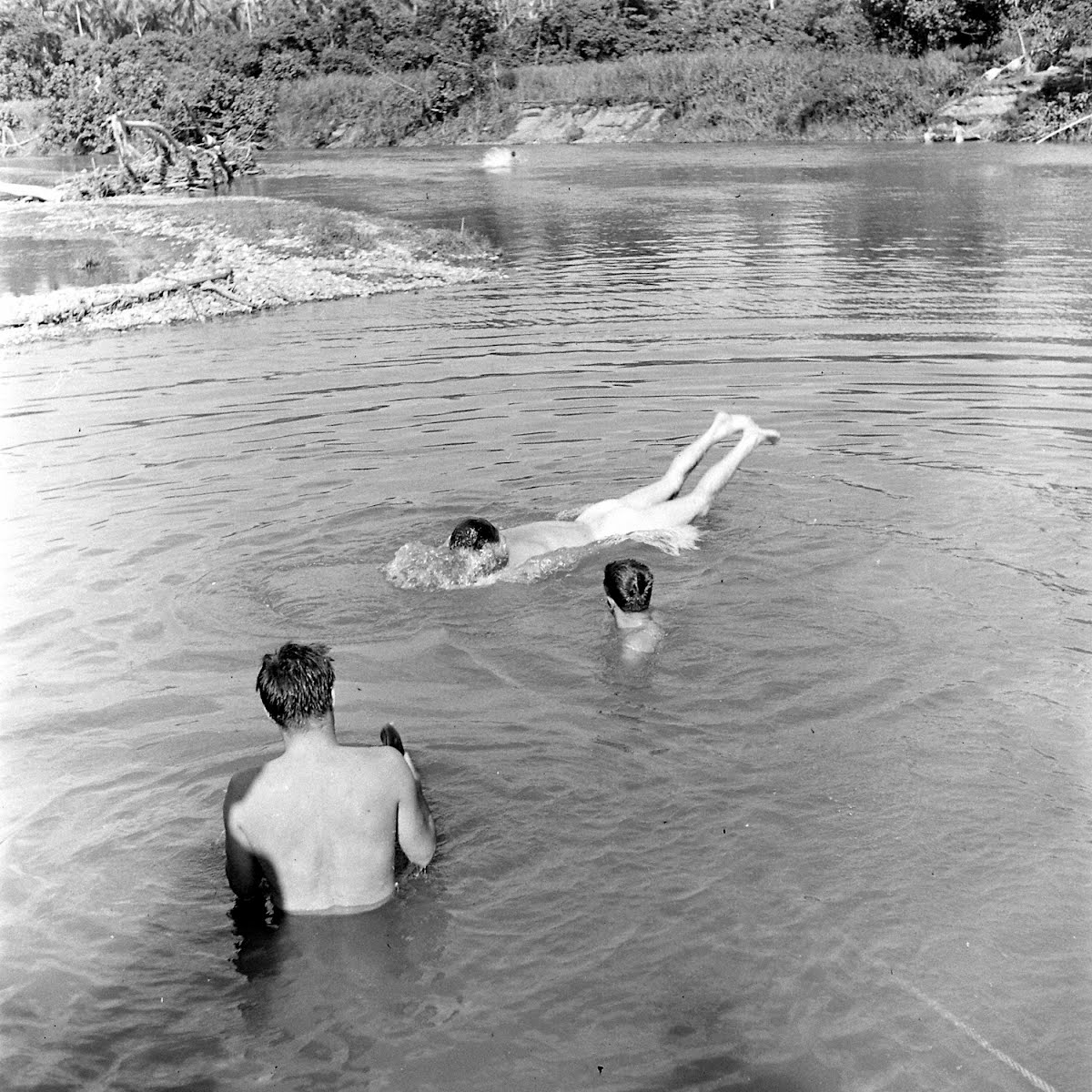 Swiming Hole, Guadalcanal