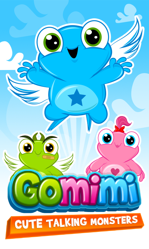 Gomimi - Cute Talking Monsters- screenshot