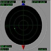Electronic radar compass trial