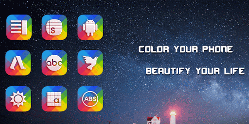 Colorful Glass Icon Pack
