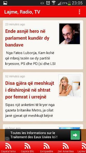 Lajme Radio Muzik Tv Shqip