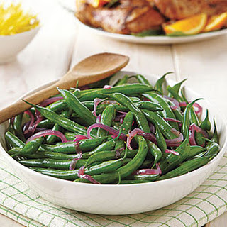 Green Bean Salad with Melted Red Onions.