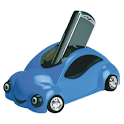 I'm driving – call later! logo