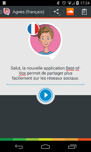Voix Agnès français