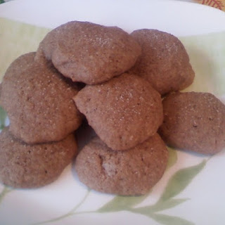 Applesauce Spice Cookies With Cinnamon-Sugar Topping