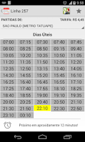 Screenshot of Bus Timetable - EMTU