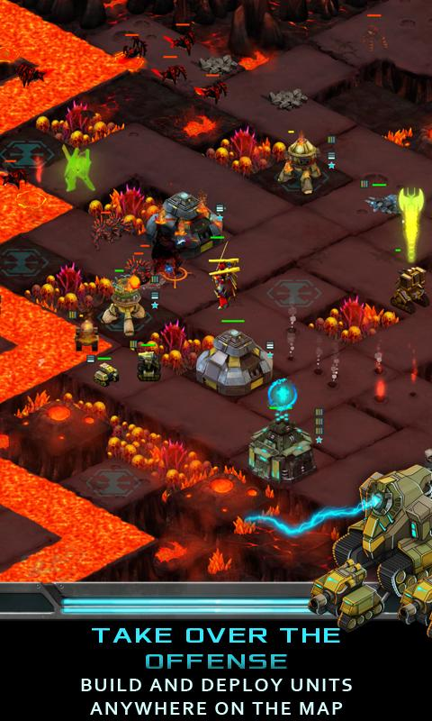 Nitropia: War Commanders screenshot #3