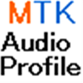 MTK Audio Profile Shortcut
