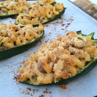 Macaroni and Cheese Chile Boats Recipe