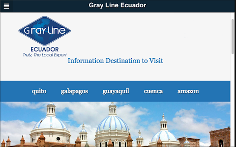Gray Line Ecuador screenshot 4