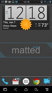 MattedBlues CM10/AOKP Theme - screenshot thumbnail