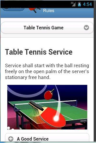 Table tennis rules android apps on google play for 10 rules of table tennis