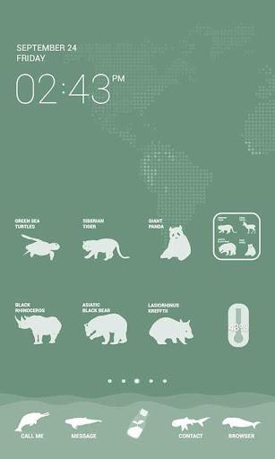 Endangered Animals Dodol Theme