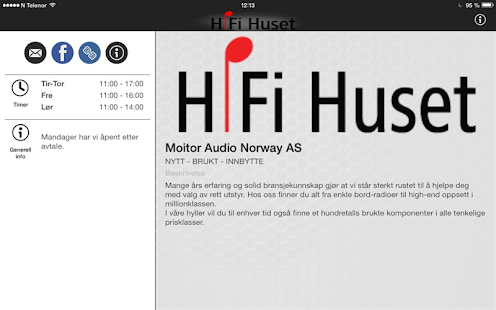 HiFi Huset- screenshot thumbnail