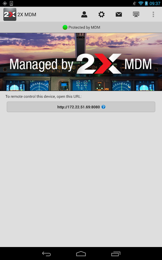2X MDM - Device Management - screenshot