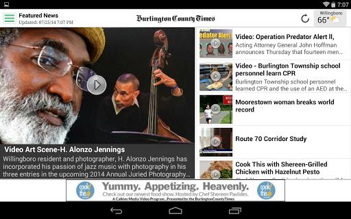 玩免費新聞APP|下載Burlington County Times app不用錢|硬是要APP