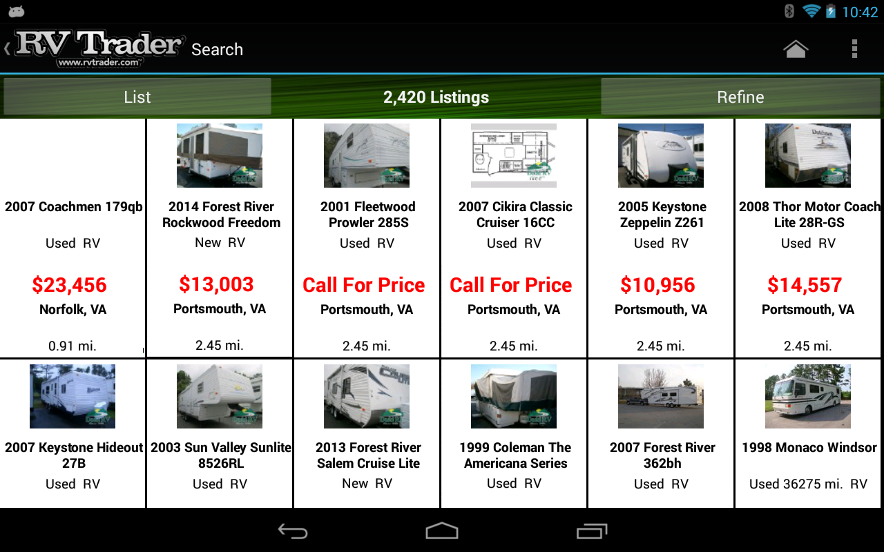 RV Trader Android Apps on Google Play