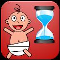 新生儿宝宝计时器 icon