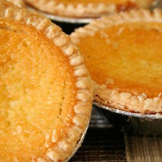 Classic Coconut Custard Pie.