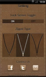 Zipper Lock Leather Collection - screenshot thumbnail