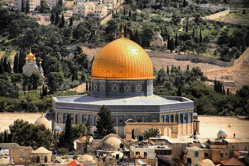 dome-rock-Jerusalem-Israel - The Dome of the Rock is one of the most recognizable landmarks in Jerusalem, Israel.