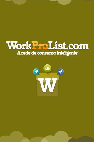 WorkProList- screenshot