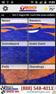Boise State Bronco Roundup - screenshot thumbnail
