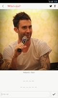 Screenshot of Pop Star Quiz
