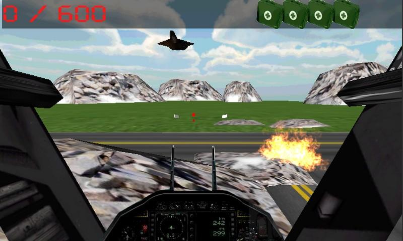 Army sniper: Air Attack - screenshot