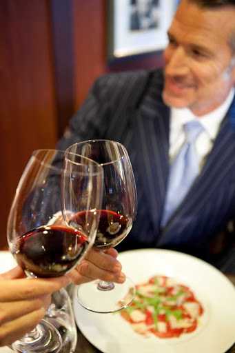 For fine cuisine and nicely paired wines at sea, dine at Prime C aboard an Azamara cruise.