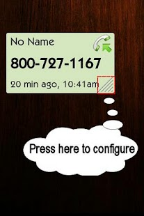 LOGgle Call Widget - screenshot thumbnail
