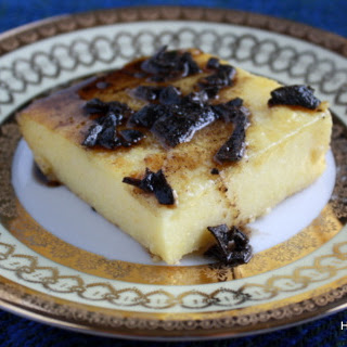 Polenta with Sage Brown Butter Sauce