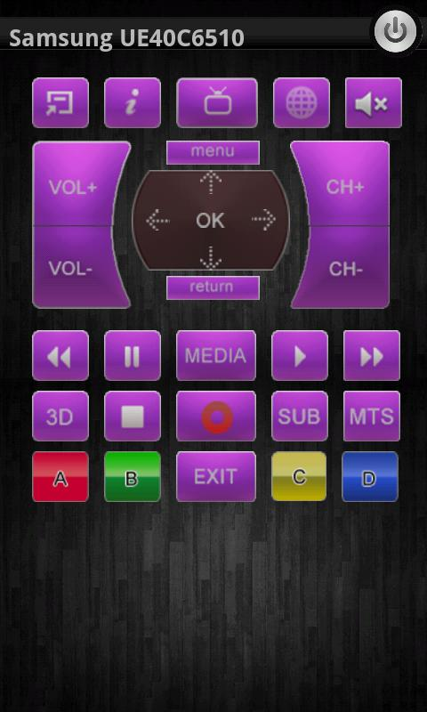 Smart TV Remote Control + DLNA - screenshot