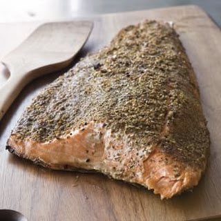 Fennel and Herb Salmon Fillet (Fennel Seed)