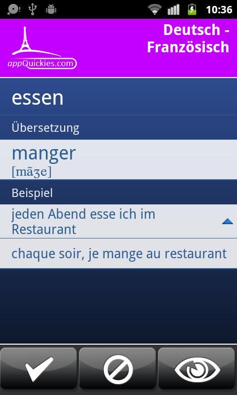 FRANZÖSISCH Food & More GW- screenshot