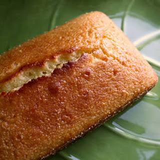 One Egg Lemon Pound Cake