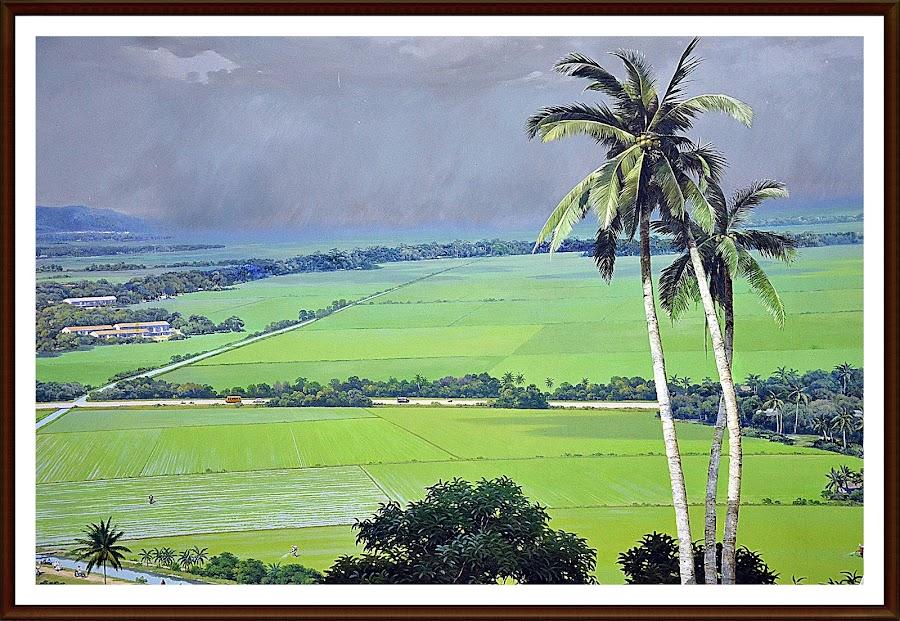 Waving Palm Trees by Azman Kamaruddin - Painting All Painting
