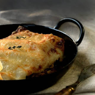 Beef Lasagna from Donna Hay (long cooking).