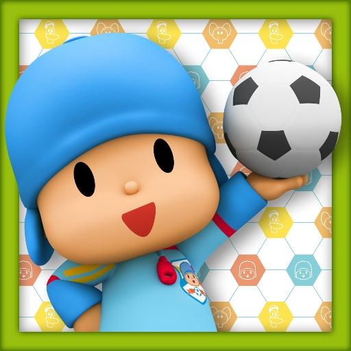 Talking Pocoyo Football 娛樂 App LOGO-硬是要APP