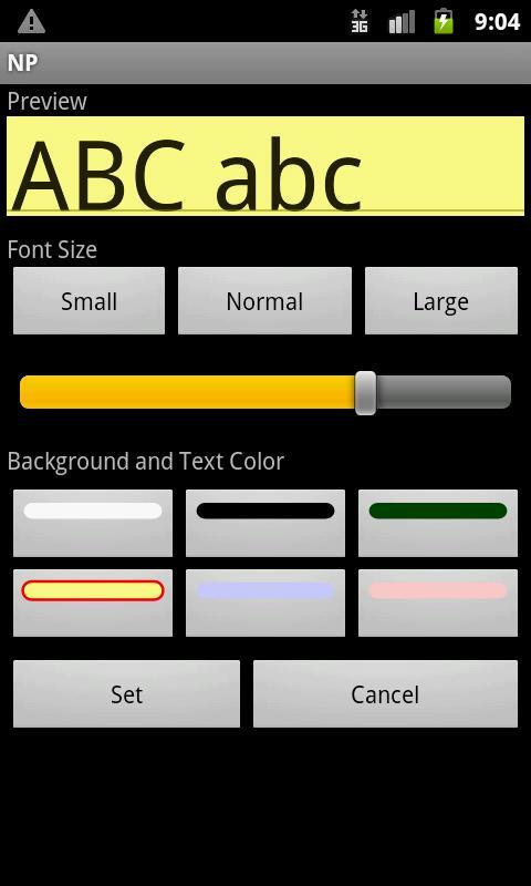 NP-Notepad- screenshot