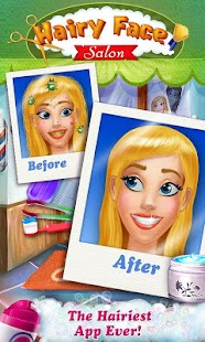 Hairy Face Salon - Makeover