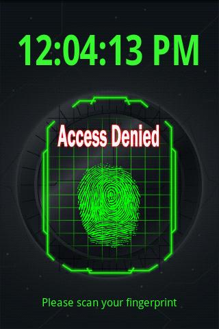 Fingerprint Scanner FREE - screenshot